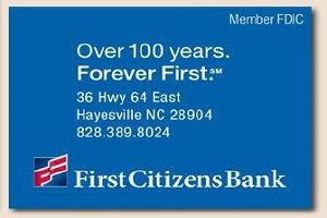First Citizens Bank – Clay County, NC Chamber of Commerce