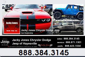 Jacky Jones Chrysler Dodge Jeep Clay County Nc Chamber Of Commerce