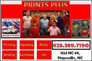 prints plus clay county nc chamber of commerce
